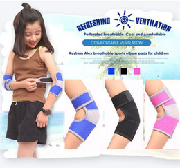Wholesale Knee Protector Kids - Strained Adjustable Warm Arm band Breathable Durable Elbow Protector For Kids Tennis Squash Golf Volleyball Football Basketball Sport
