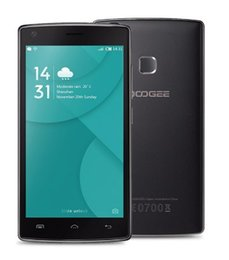 Wholesale Gps Quadcore - Original DOOGEE X5 MAX Fingerprint ID Android 6.0 MTK6580 QuadCore 5.0 inch RAM 1GB ROM 8GB 4000mAh 3G WCDMA