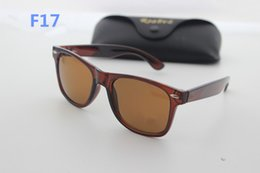 Wholesale Box Ends - High-end designer brand sunglasses men's outdoor sports fashion retro anti-reflective 54mm sunglasses and box original case