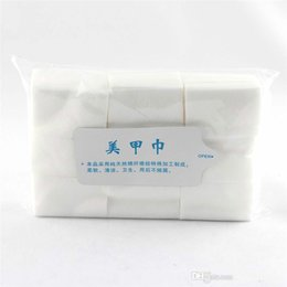 Wholesale Pc Wipes - MAKARTT Nail Wipes Remover Paper 900 Pcs Pack Lint Free Wipes for Nails Wipes Cotton Pads
