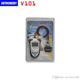 Wholesale Code V Professional - NEW VCHECKER V101 OBD2 Code Reader Without CAN BUS OBD2 V-CHECKER V-101 Professional Diagnostic Scanner