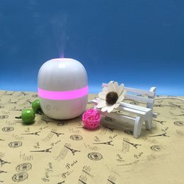 Wholesale Mist Vaporizer - 100ML Household Air Humidifier Aroma Diffuser with Colorful Lights Ultrasonic Vaporizer Mist Maker Essential Oil Diffuser for Aromatherapy
