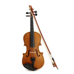 Wholesale Violin Bow Rosin - Wholesale-Deviser V-35 Spruce 1 2 1 4 Violin with Case Rosin Bow brige For Children