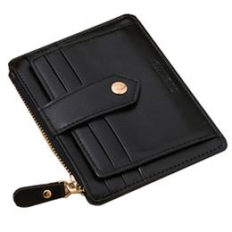 Wholesale Large Wallet Organizer - Wholesale- Hot Selling Business Men Women Coin Purse Luxury Brand Designer Famous Card organizer Large Capacity Wallet--BID071 PM05