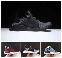 Wholesale Tassels Nipples - (Box+socks) 2017 New arrival NMD XR1 Duck CAMO BA7232 REAL BOOST Bottom With Nipples NMD XR1 Camo NMD Women Mens Running Shoes