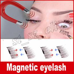 Wholesale Cheap C - Hot Women False Eyelashes Magnetic Lashes eye makeupTouch Soft Wear With No gule magnet eyelashes Cheap