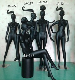Wholesale Black Mannequin Body - Freeshipping! 5colour 1pc Fashion model props female clothing store female model black female body window show women models racks B366