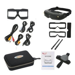 Wholesale Head Goggles - Skyzone SKY02S V+ 3D 5.8G 40CH FPV Goggles Video Glasses Tracker Head Tracking HDMI-IN Channel DVR (No Transmitter No Camera ) F20318 9