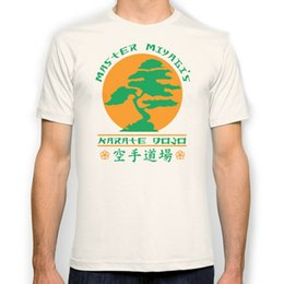 Wholesale Bonsai White - Bonsai Karate Dojo New Fashion Man T-Shirt Cotton O Neck Mens Short Sleeve Mens tshirt Male Tops Tees Wholesale
