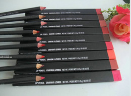 Wholesale Crayon Eyeliner Pencil - 10pcs  lot NewNEW LIP EYE LINER PENCIL CRAYON EYELINER 1.45G
