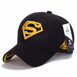 cap superman gold Coupons - 2017 brand new Superman snapback men's polo golf caps women with adjustable cap Gorras planas casquette chapeau homme