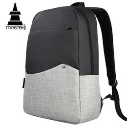 Wholesale Red Notebook Computer - Wholesale- Laptop Backpacks For Teenage Girls 14 15.6 inch Notebook Computer Laptop Backpack Waterproof Nylon Backpack Portfolio For Teens