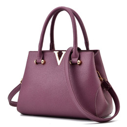 Wholesale V Bagging - Woman bags fashion designers casual-bag bolsas femininas famous brand V metal tote bag Large lady handbags shoulder bag
