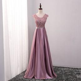 2016 chegada nova festa vestidos de noite longo vestido de baile Vestido de Festa A linha apliques vestido sexy V-abertura de volta frete grátis de