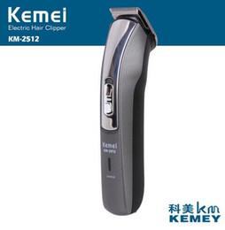 KM-2512 trimmer elettrico taglio di capelli barba trimmer rasatura macchina kemei tagliacapelli ricaricabile rasoio rasoio barbiere da
