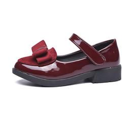 Modello di scarpe da ballo online-2017 primavera e autunno modelli ragazze principessa scarpe big virgin solide e scarpe da ballo