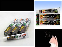 Wholesale Toothpaste Wholesale Supplies - Charcoal Toothpaste Whitening Black Toothpaste Bamboo Charcoal Tooth Whitening Teeth Whitener Oral Hygiene Products Supplies 100g