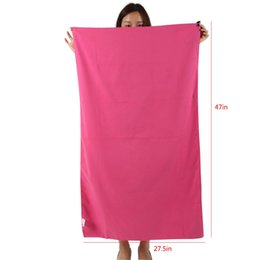 Wholesale Microfibre Drying - Wholesale-Travel Camping Outdoor Swimming Highly Absorbent Compact Soft Microfibre Wiping Hair Thin Fiber Quick Drying Speed Dry Towel