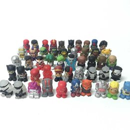 """Wholesale Marvel Gifts - Random 30X 1.5"""" Surper Rare Marvel Heroes DC Comics Figure Ooshies Pencil Toppers Great Gift Kids Toy CA183"""