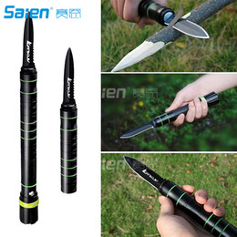 Wholesale Emergency Led Torch - Tactical Flashlight -Handy Survival Rescue Self Defense Emergency Knife With LED Rechargeable Torch and Window Breaker For Car Home Vehicle