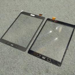 Samsung Galaxy Tab için Bir 9.7 SM-T550 T550 Orijinal Yeni Dokunmatik Ekran Digitizer Yedek Parçalar Ücretsiz Nakliye supplier original tab nereden orijinal sekme tedarikçiler