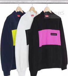 Wholesale Long Slim Polo Design - Unisex Brand 17FW POLO CREWNECK Puiiover Long sleeves Sweater Coat Men's Slim Personalized hat Design Hoodies & Sweatshirts Jacket