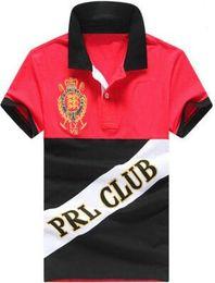 Wholesale Polo Club - Luxury Fashion Summer men Golf Polo Shirt Big Horse Cotton Cusual shirts Men Camisa Club Polos Men Leisure tops tees