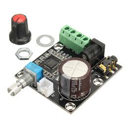 Wholesale Amplifier Board 15w - Freeshipping Circuit Board PAM8610 90dB 15W+15W Dual Channel 12V Class D Digital Audio Amplifier Board Module 43mm x 47mm DC12V