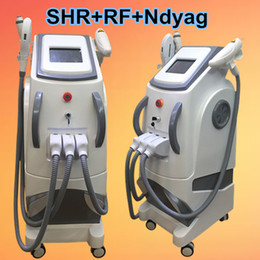 Wholesale Shr Ipl - Factory price!elight shr ipl laser hair removal salon equipment q switch nd yag laser tattoo removal laser eyebrow removal rf skin care