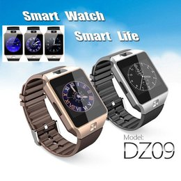 Wholesale Female Voice - Free shipping wholesale Original DZ09 Smart Watch Support SIM TF Card Camera Voice Record Connect Android Smartphone DZ09 Smartwatch