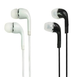 Wholesale Noodle Wires - 3.5mm In-Ear flat noodle Headphones Headset with Mic and Remote Control for Samsung Galaxy S3 S4 S5 S6 edge note3 note4