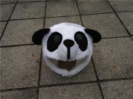 Wholesale Fits Mascot Costumes - Big Kid's Deluxe Panda Costume Children Panda Bear Mascot Costume Christmas Size Fit 110cm-130cm