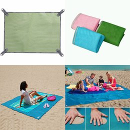 Wholesale Padded Picnic Blanket - Beach Mat Portable Outdoor Camping Mat Sand picnic Blanket Dirt Beach Outdoor Camping Picnic Pad blankets 200*150cm WX-P12