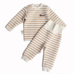 Wholesale Unisex Underwear For Kids - New kids Thermal Underwear Set Kids Long John Children Warm Undershirt Winter Inner Wear Children Clothing for Winter