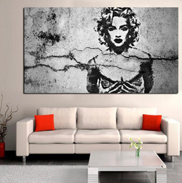 Wholesale Art Legend - Digital Print Abstract Madonna Pop Art Oilpainting on Canvas Music Legend Picture for Living Room Home Sofa Cuadros Decor Poster