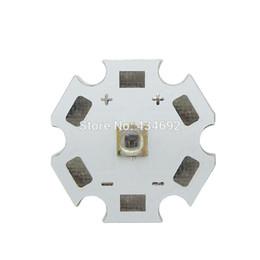 пластина для светодиодной панели Скидка 50PCS / LOT наивысшая мощность 3W 730NM - 740NM Инфракрасный светодиодный шарик красного света Led 1.6-1.8V 350-800mA 20 мм Белый PCB для светодиодной лампы