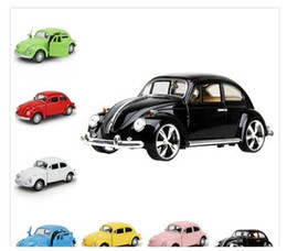 Wholesale Pull Back Toy Cars - Brand New UNI 1 32 Scale Car Model Toys 1967 car Diecast Metal Pull Back Car Toy Gift   Collection   Children