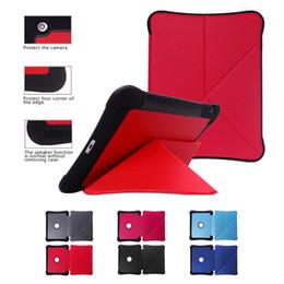 Wholesale Ipad Pu - Cases Luxury Diamond pattern Folding Folio Smart Sleep Wake Flip Stand PU Leather Cover Case Protective Heavy Duty For iPad 2 3 4