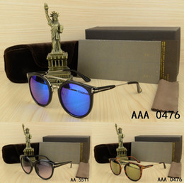 Wholesale Ladies Eyeglasses - 2018 Men Woman Brand Sunglasses with origianal box case lady eyeglasses Classic square glasses Travel girl UV400 gafas de sol hombre eyewear
