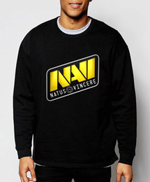 Wholesale Dota Hoodie - Wholesale-2016 Navi Dota men Sweatshirt Dota 2 Natus Vincere Gamer hoodies fall winter hip hop style tracksuit fleece brand clothing