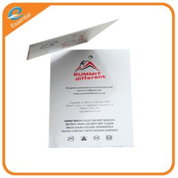 Wholesale Clothing Hang Tags Wholesale - Logo individuality customized clothing double membrane hangs card hanging card clothing underwear tags hanging grain production