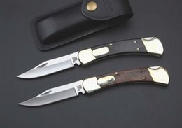 Wholesale Shipping Options - Classic folding knife high quality Buck 110 Double Action Knife Conversions to Conversion knife 2 options free shipping