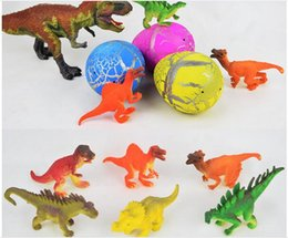 Wholesale Grow Large - Large Size 10*8cm Magic Growing Dino Egg Hatching Dinosaur Eggs Add Water Growing Pet Easter Egg Child Funny Novelty Toy Gift T009