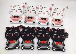 Wholesale Cute Mobile Cases - For iphone 5 5S SE 6 6S Plus 7 7plus Cute 3D cat Cartoon Animal Rubber Phone Back Cover mobile phone case