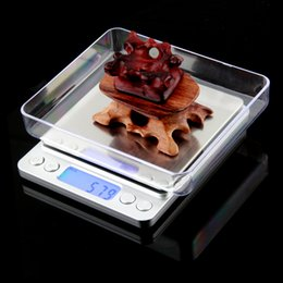 Wholesale Ct Scale - New 2000g x 0.1g Digital Pocket Scale Jewelry Weight Electronic Balance Scale g  oz  ct  gn Precision