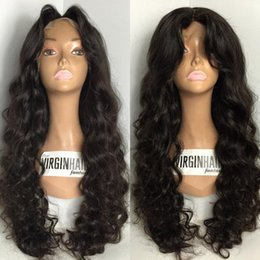 Wholesale Vietnamese Silk - Body Wave Silk Base Wig Virgin Brazilian Human Hair Glueless Silk Top Full Lace Wigs With Natural Hairline For Black Women