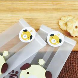 Bolos de casamento do cão on-line-Quarto Gato Cão e Urso Projeto Adesivo Selos de Alimentos adesivos de presente Para O Presente de Casamento Bolo De Cozimento De Vedação Adesivo