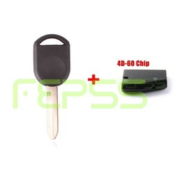 Wholesale ford key blanks - 2004 2005 2006 2007 2008 2009 Ford F-Series Blank Transponder Ignition 4D60   4D63 (2 Keys Needed To Program)
