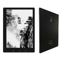 Wholesale E Reader Inch - Wholesale- Android 4.4 1G 16G Peacelevel Page X Ebook reader e-ink touch 9.7 inch LIGHT THIN e-book BIG screen handwritten e-book + CASE