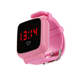 Wholesale Most Popular Kids - 2017 Most Popular Newest Design Mold Smart Watch for Child SOS Call Location Finder Tracker Kid Safe Anti Lost Monitor